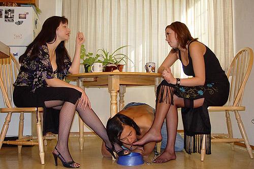 Stocking slave