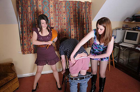 Spanking Sisters