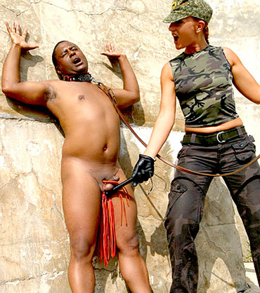 Black Femdom Slave